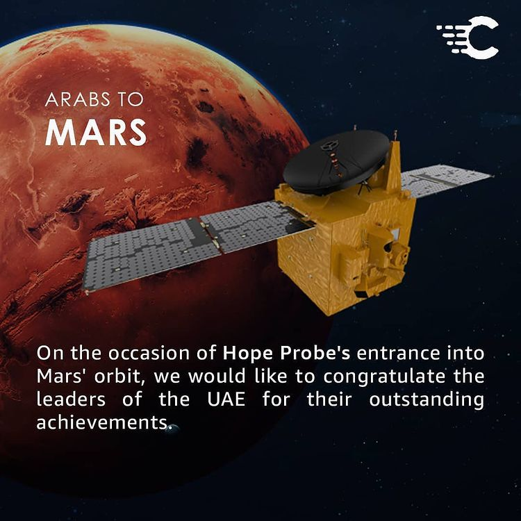 Hope Probe UAE Mars Mission